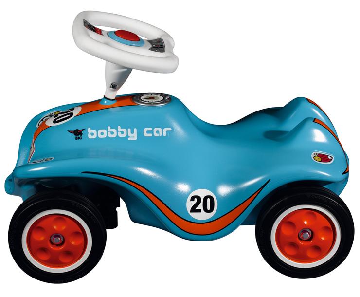 蓝色炫酷波比车
